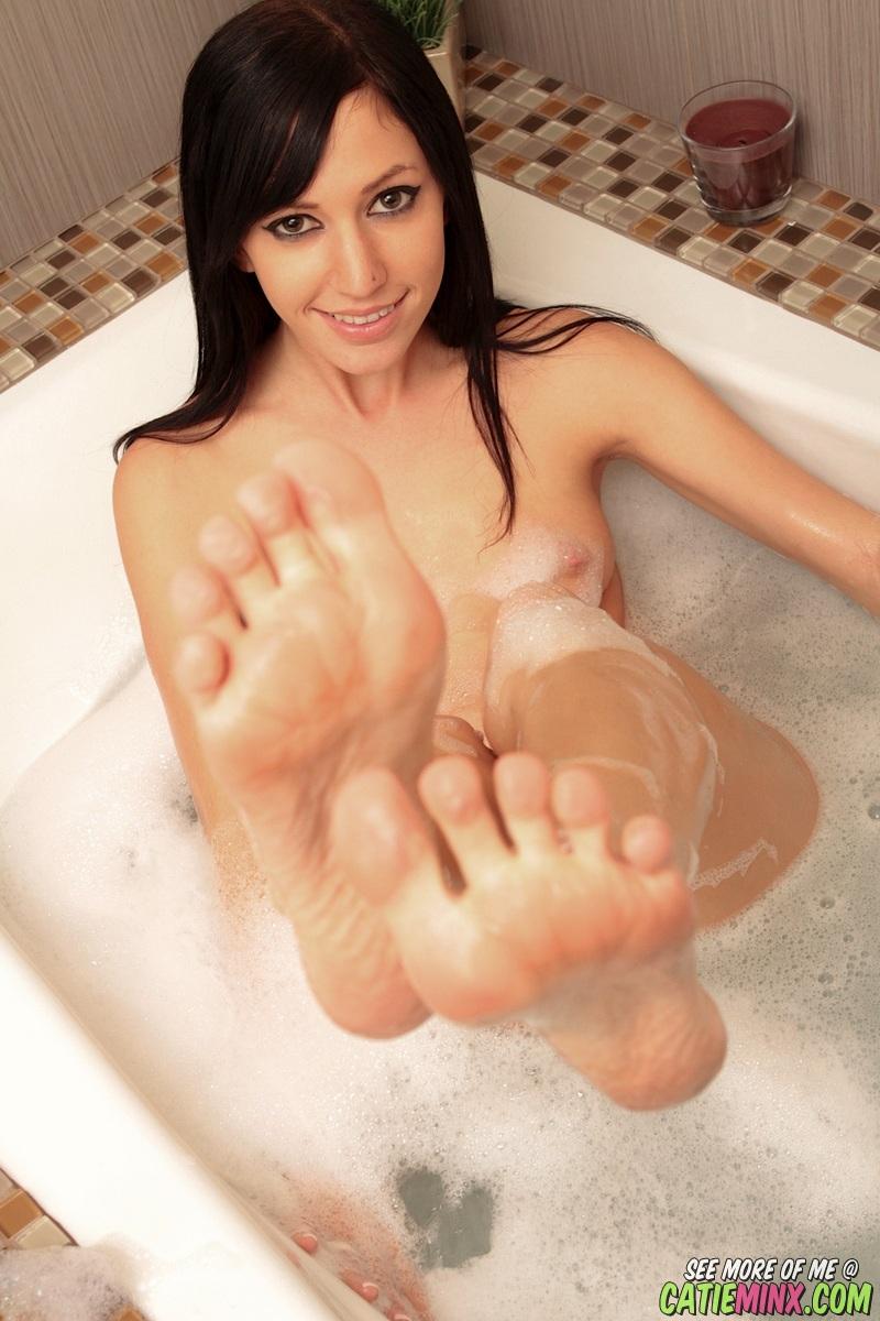Bubble bath girls nude
